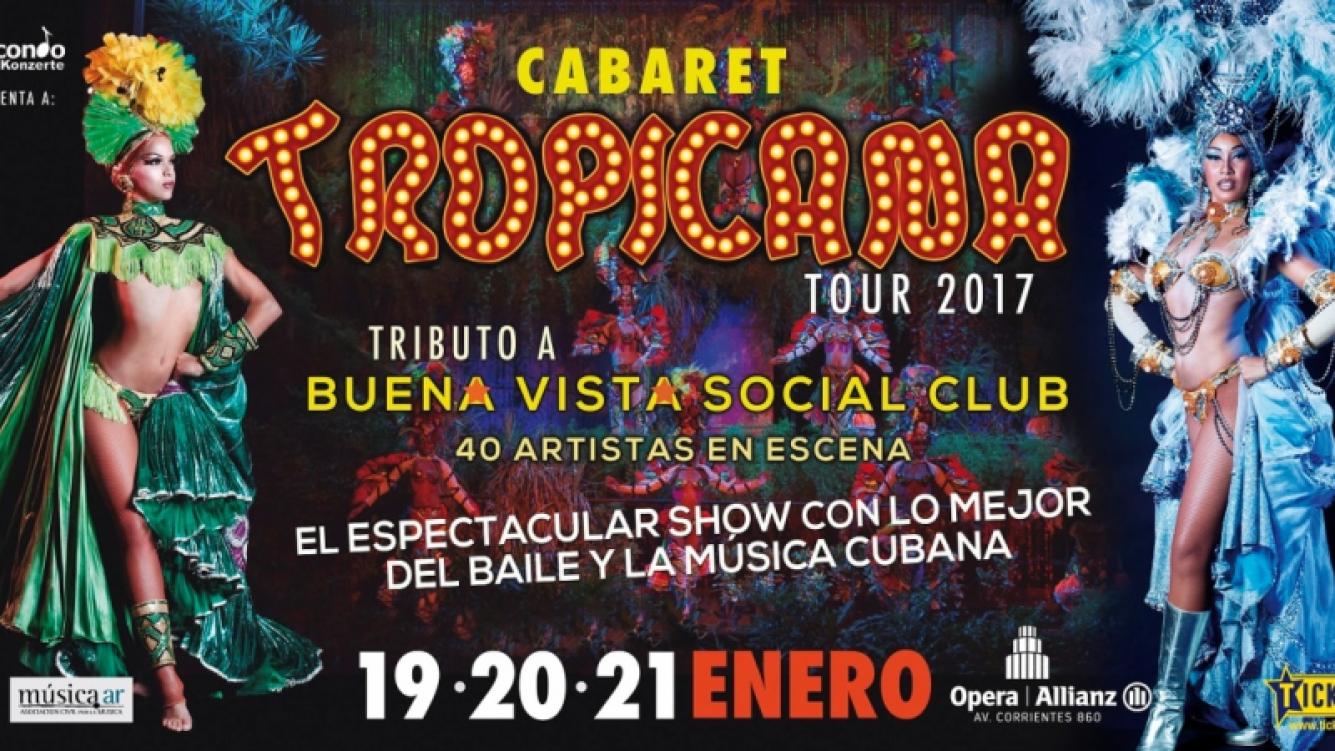 El Cabaret Tropicana se presentará por primera vez en Argentina y Ciudad.com te invita a verlo. (Foto: Prensa)
