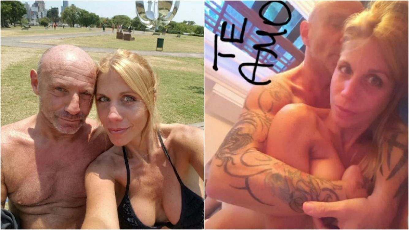 Leo Rosenwasser se mostró sin nada de ropa y en la cama con su novia 22 años menor. Foto: Twitter