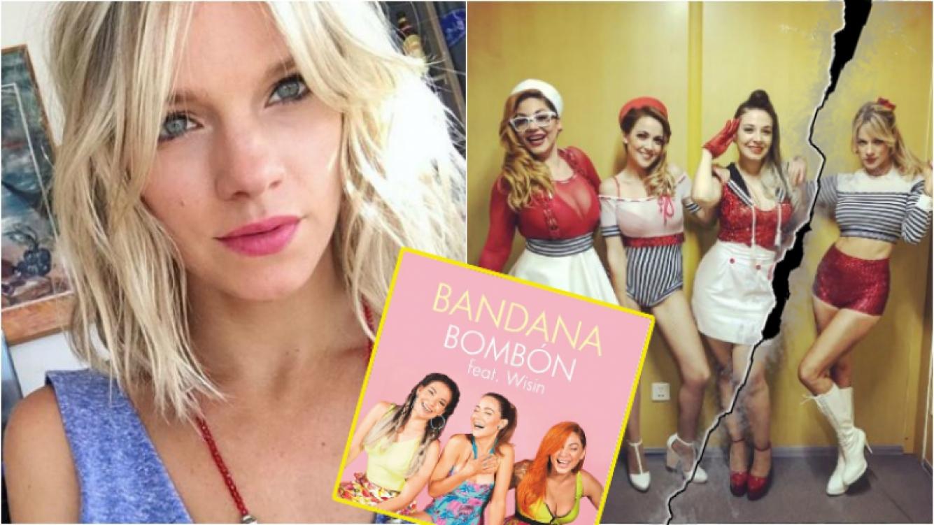 Bandana lanzó un tema como trío y Virginia Da Cunha se despidió del grupo. Foto: Web
