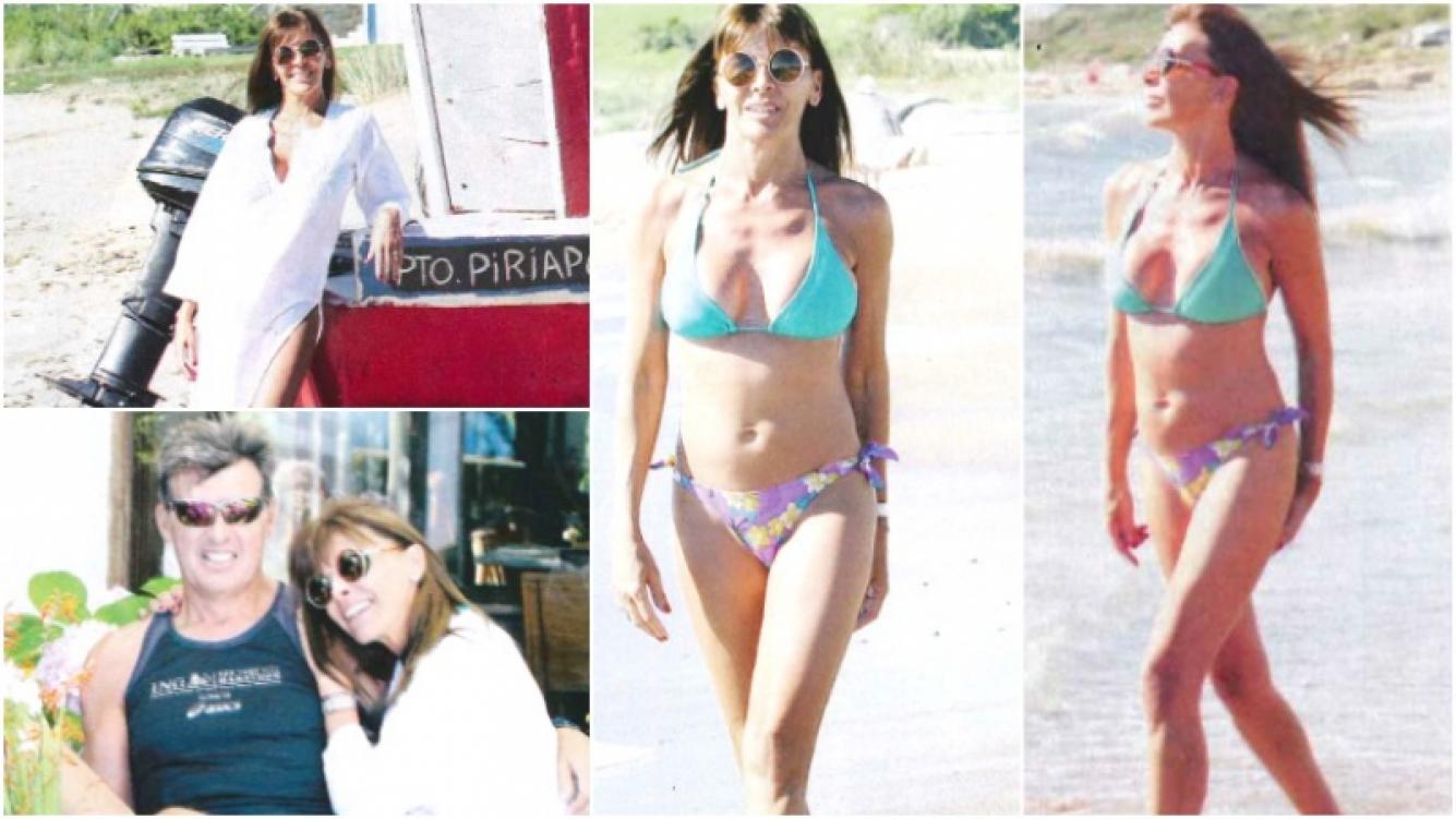 La recuperación de Fabiana Araujo luego pasar once días internada en terapia intensiva por padecer el síndrome de Guillain-Barré (Fotos: revista Paparazzi)
