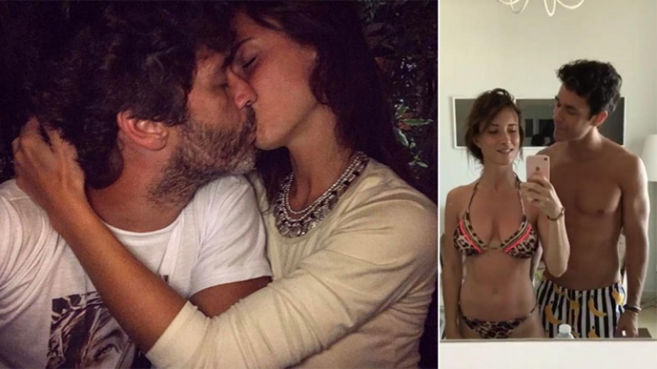 Mariano Martínez y Camila Cavallo, enamorados como dos adolescentes. (Foto: Instagram)