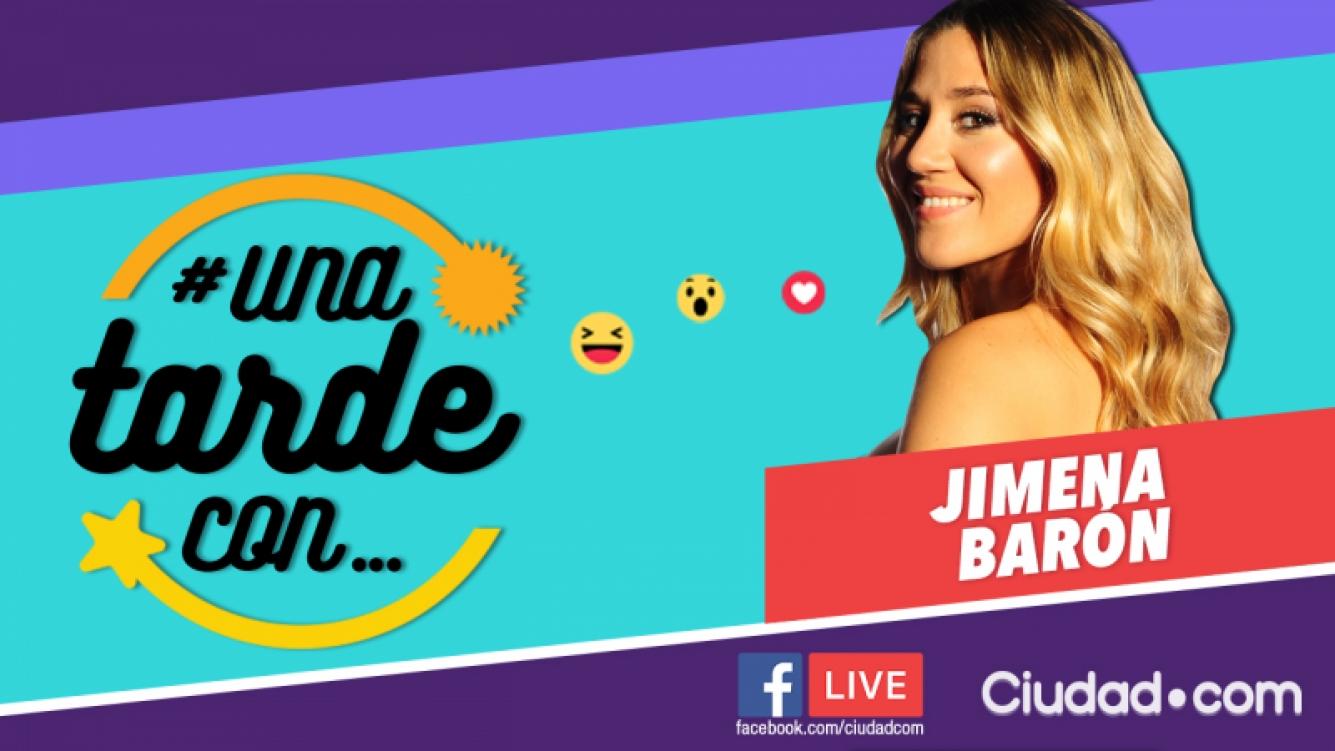 Jimena Barón, invitada en #UnaTardeCon.