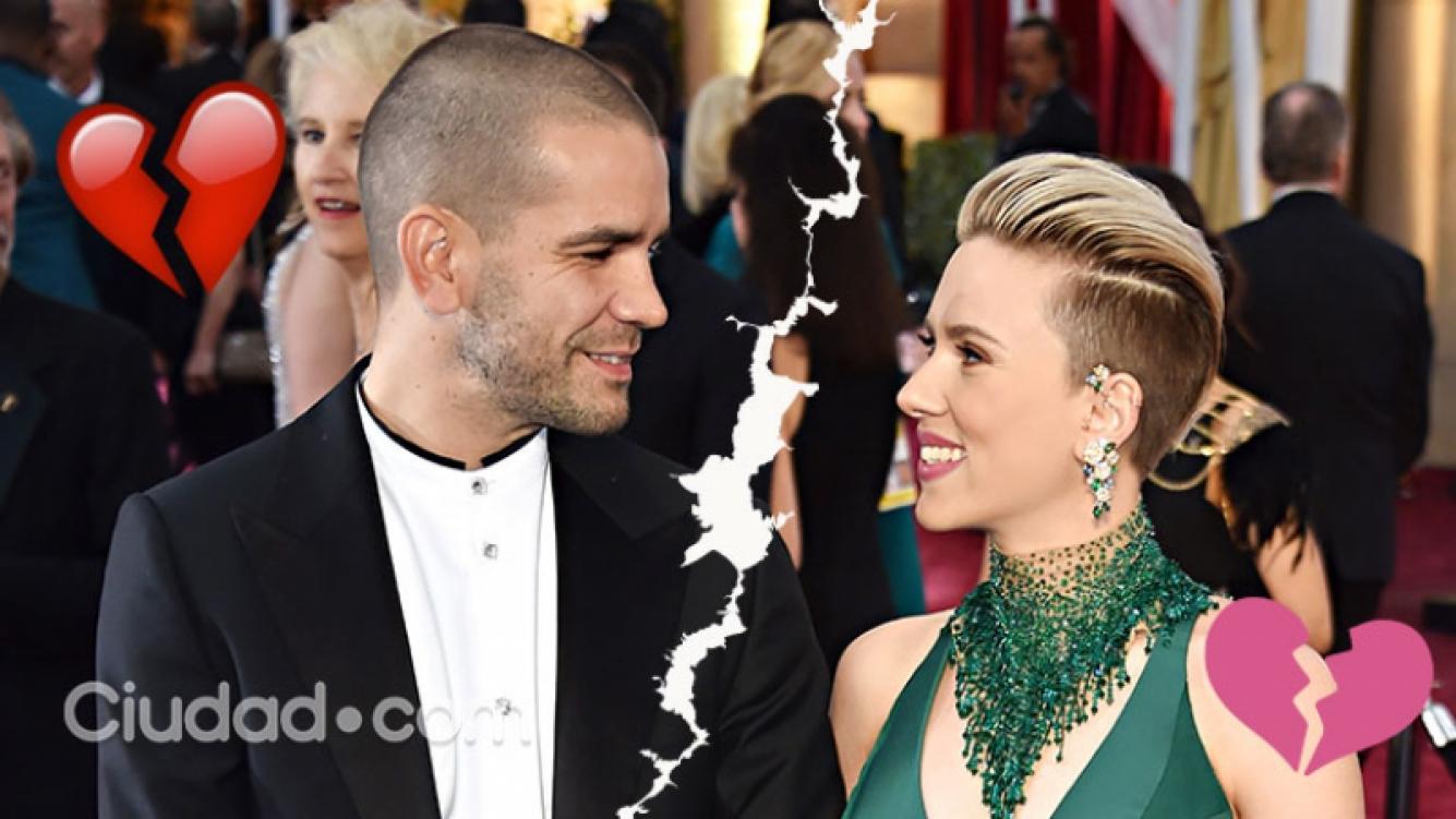 ¡Separación en Hollywood! Scarlett Johansson puso fin a su matrimonio de dos años  La actriz terminó su relación con el periodista francés Romain Dauriac, padre de su hija, Rose. ¡Los detalles!