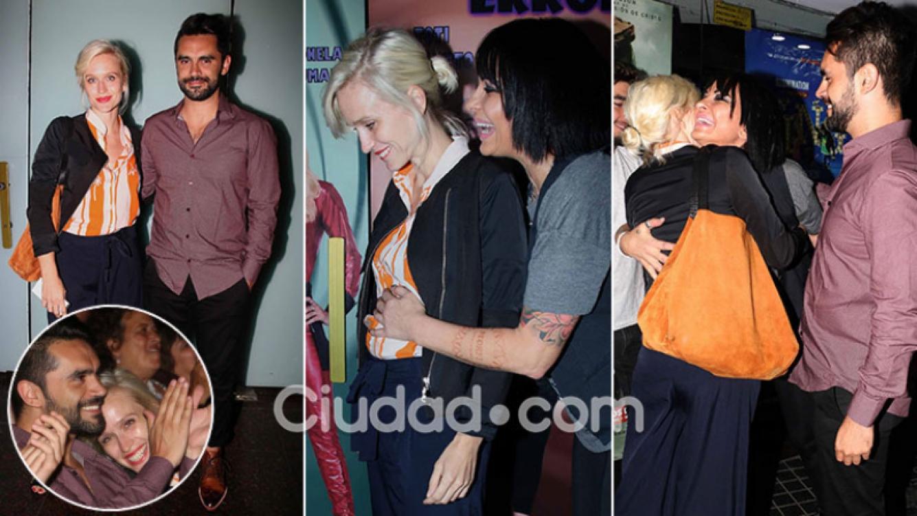 ¡Pancita de paseo! Brenda Gandini y Gonzalo Heredia, primera salida tras confirmar su embarazo de tres meses. (Foto:Movilpress)