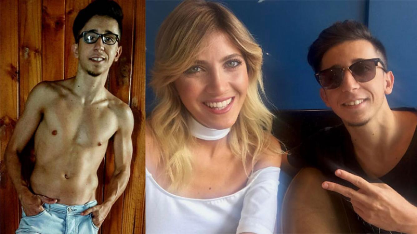 """La foto-respuesta de Rodrigo Noya luego de que lo tildaran de """"feo""""."""