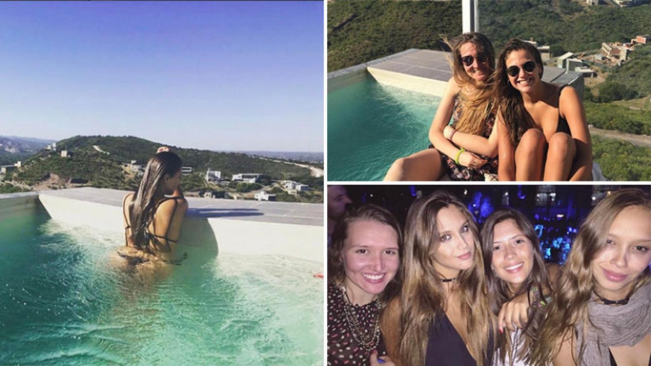 Barbie Vélez disfrutó del fin de semana en Córdoba con sus bellas amigas. Foto: Instagram