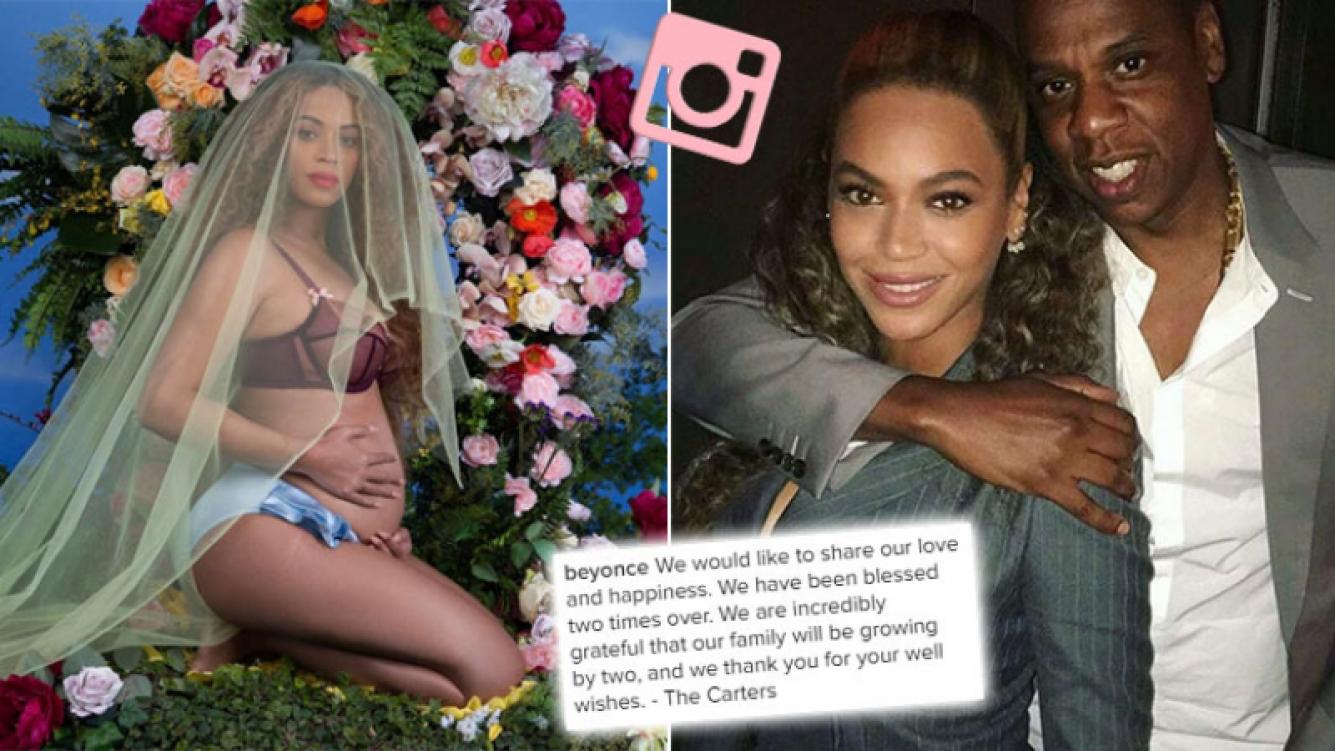 ¡Felicidades! Beyoncé anunció en Instagram que está embarazada de gemelos. (Foto: Instagram)