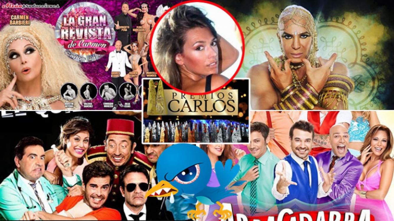 Coki Ramírez estalló en Twitter por no estar nominada a los Premios Carlos 2017. (Foto: Web)