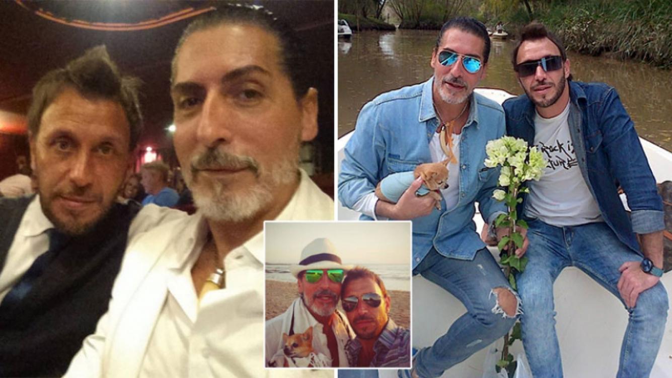 Renzi Pinochi y César Juricich están de novios hace tres años. Fotos: Web.