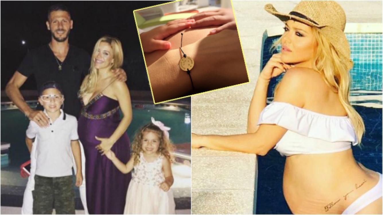 Evangelina Anderson anunció el nombre de su hija: se llamará Emma y lo eligieron sus dos hermanitos. Foto: Instagram