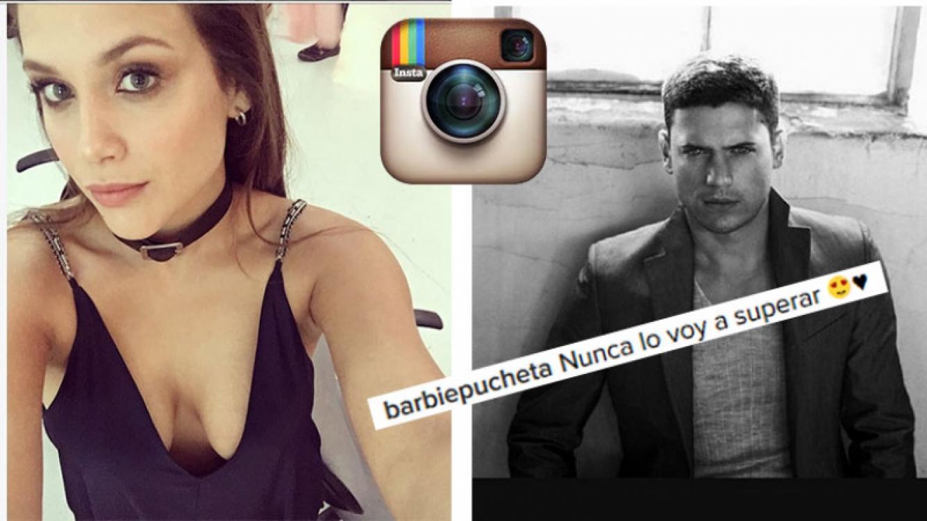 Barbie Vélez compartió una foto del galán que admira en Instagram.