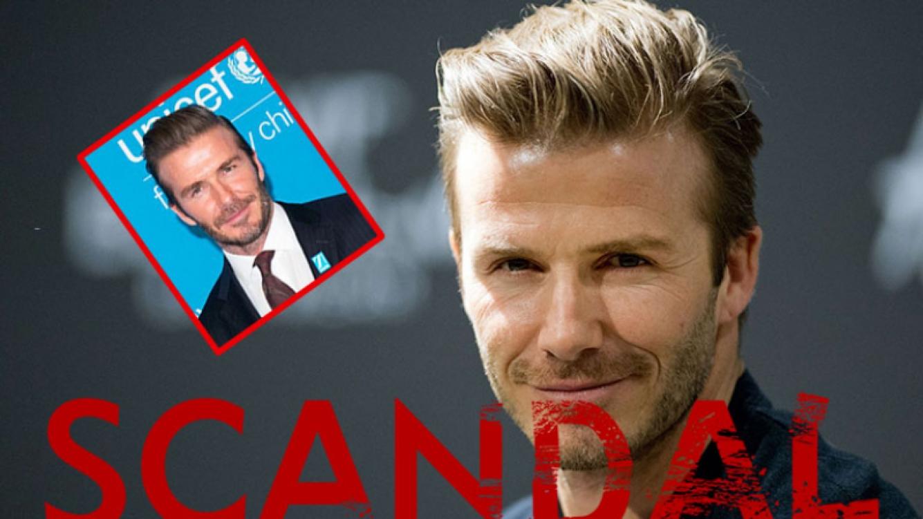 Bochorno internacional de David Beckham tras la filtración de unos mails que lo comprometen.