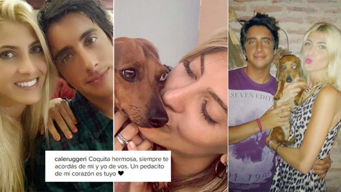 Cande Ruggeri visitó a la perrita de Santi Vázquez (Foto: Instagram)