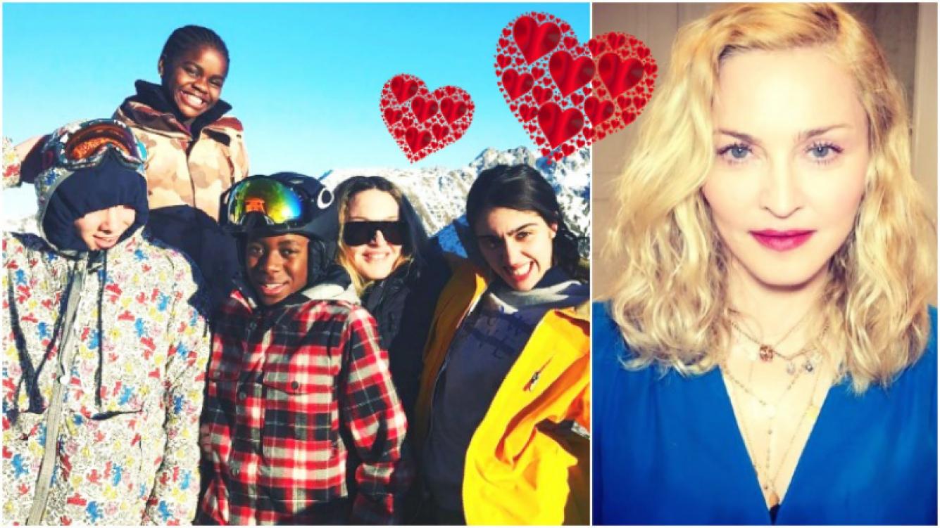 Madonna obtuvo el permiso para adoptar a unas gemelas (Fotos: Instagram)