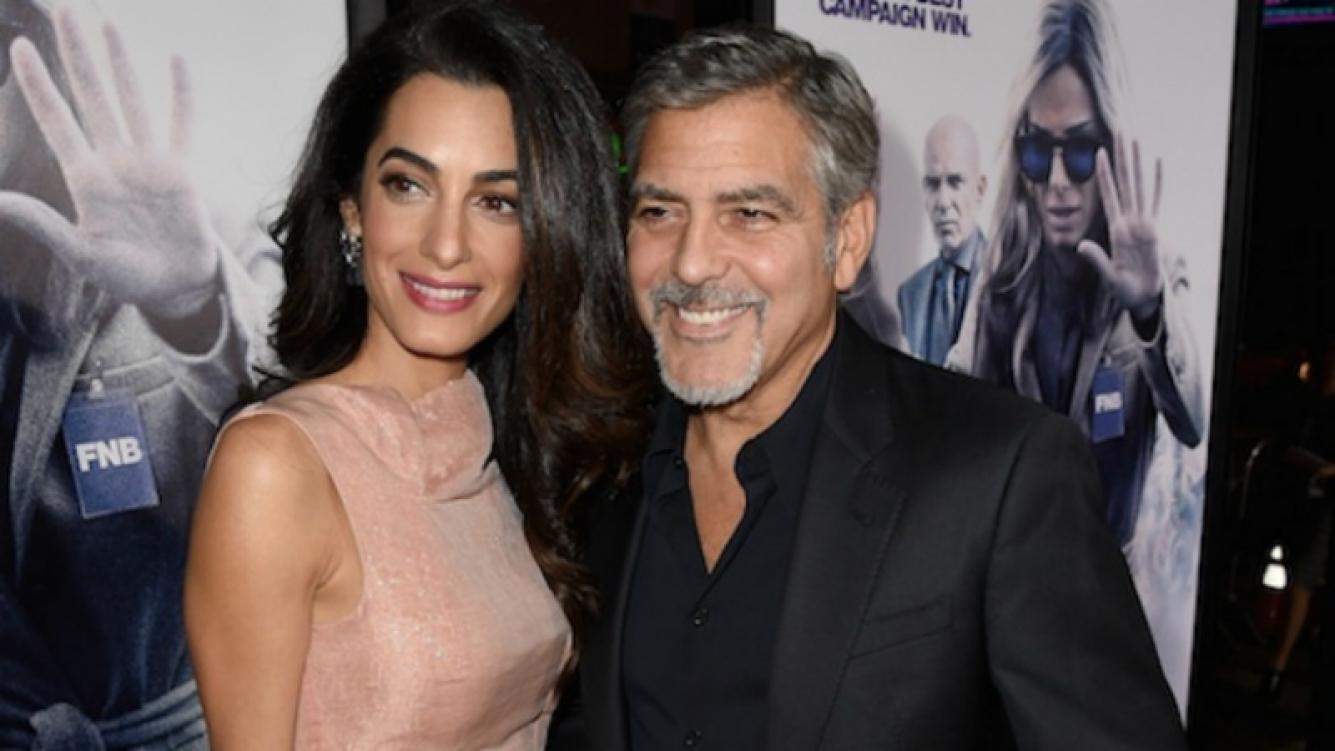 George Clooney será padre por primera vez a los 55... ¡de gemelos! Foto: Web