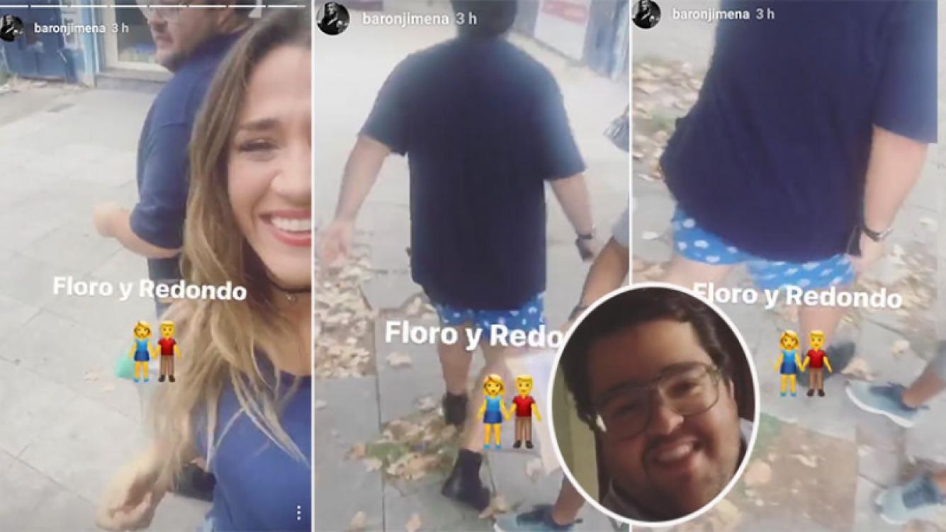 "Jimena Barón ""escrachó"" a Darío Barassi (Foto: Instagram Stories)"