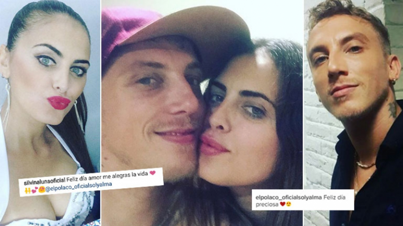 Silvina Luna y El Polaco, romántico cruce de mensajes en su primer Día de San Valentín juntos (Foto: Instagram)