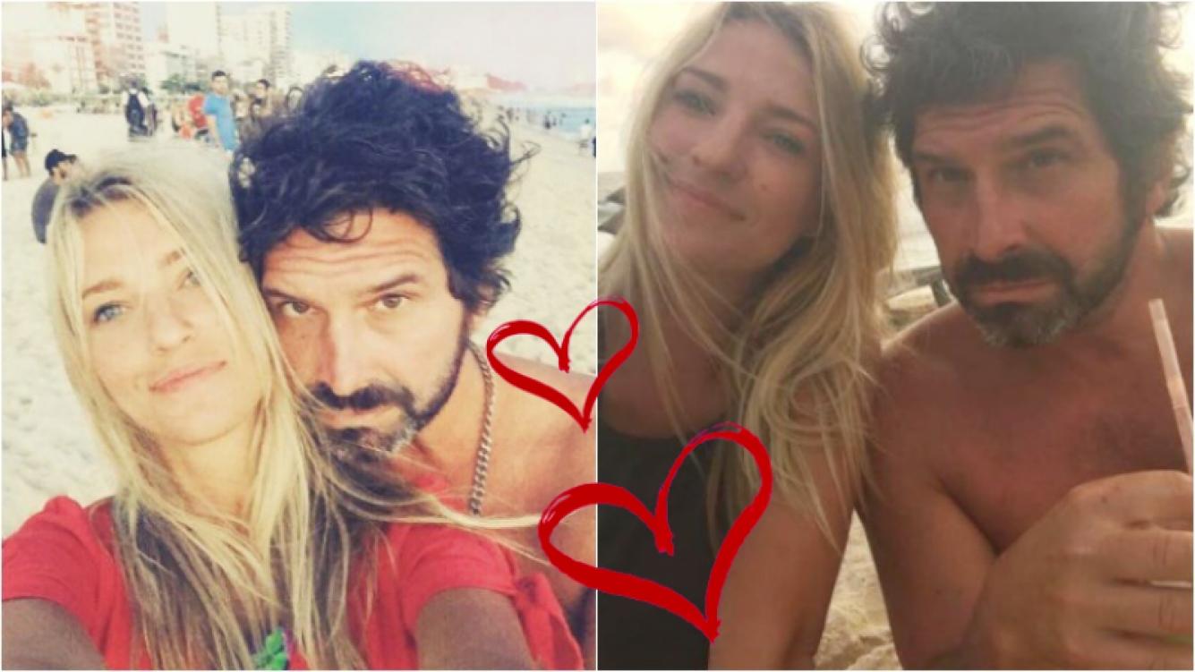 """Iván Noble presentó en Instagram a Pilar, su novia diosa de 25 años: """"La rubia de Ipanema"""". Foto: Instagram"""