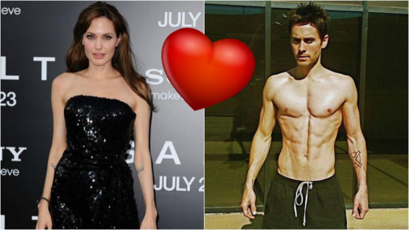 Angelina Jolie y Jared Leto estarían empezando un romance: la versión que publican los medios de Hollywood. Foto: Web