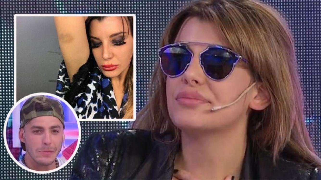 Charlotte Caniggia publicó una foto con un moretón… y la borró  (Foto: Web)
