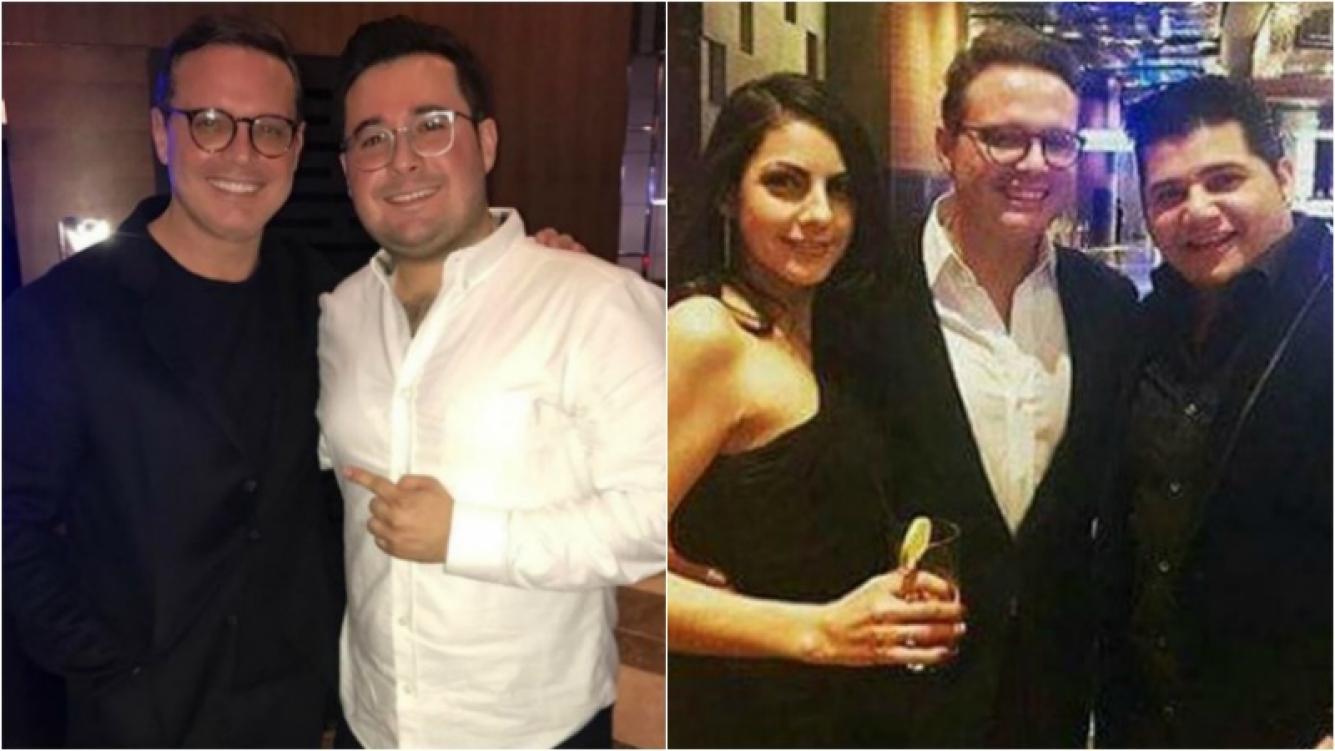 Luis Miguel reapareció con imagen renovada... ¡delgado y con lentes! (Fotos: Instagram)