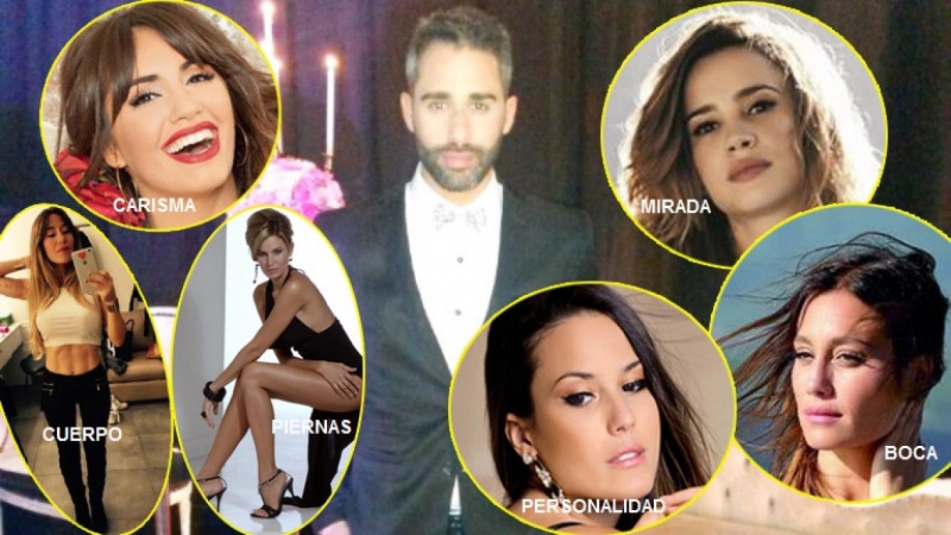 El Pollo Álvarez reveló que características físicas (y todas de famosas argentinas) debería tener su mujer ideal (Fotos: revista Gente y Web)