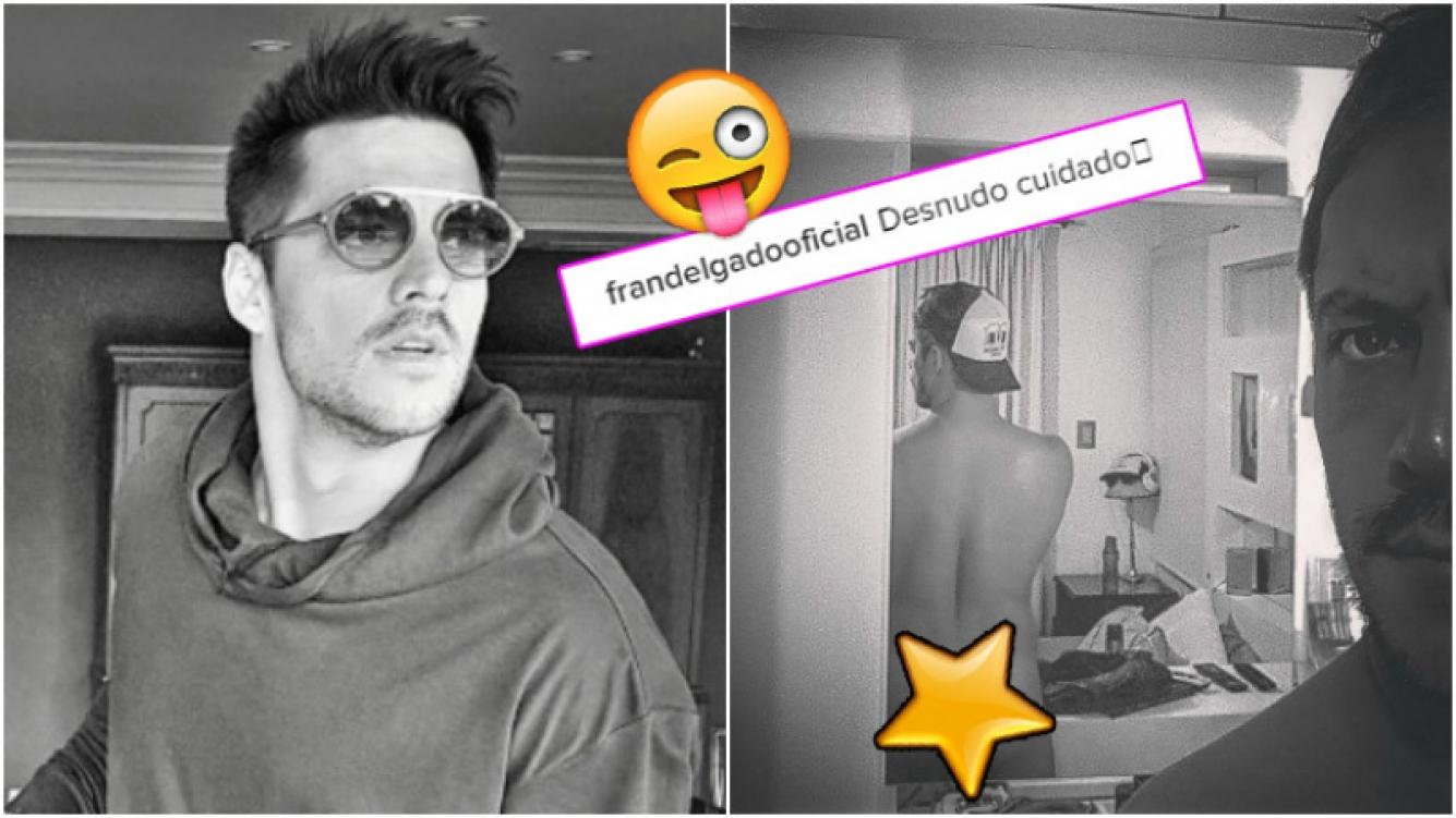"""Francisco Delgado despertó suspiros en Instagram tras publicar un """"desnudo cuidado"""" (Fotos: Instagram)"""