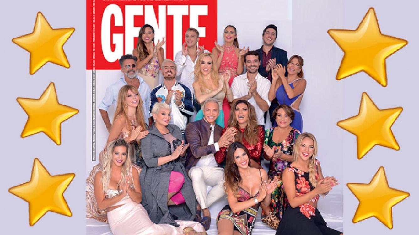 Los personajes del verano de Carlos Paz. (Foto: revista Gente)