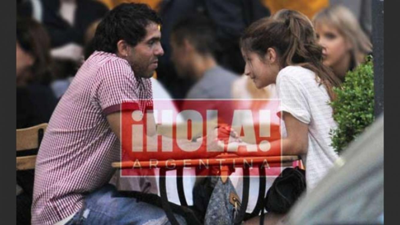 布兰达阿斯尼卡与卡洛斯特维斯在米兰热恋。(照片:嗨!阿根廷)