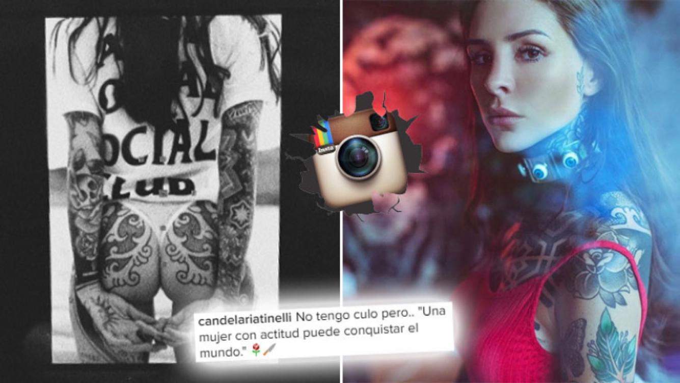 ¡Pura actitud! Cande Tinelli, foto súper sexy y provocador mensaje. Foto: Instagram