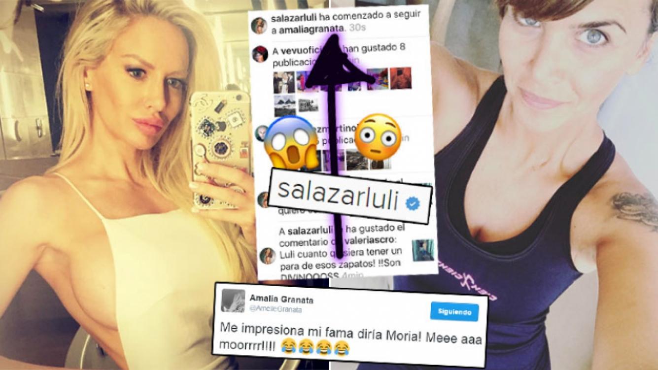 Luciana Salazar espió a Granata en Instagram ¡y quedó la prueba! (Foto: Web)