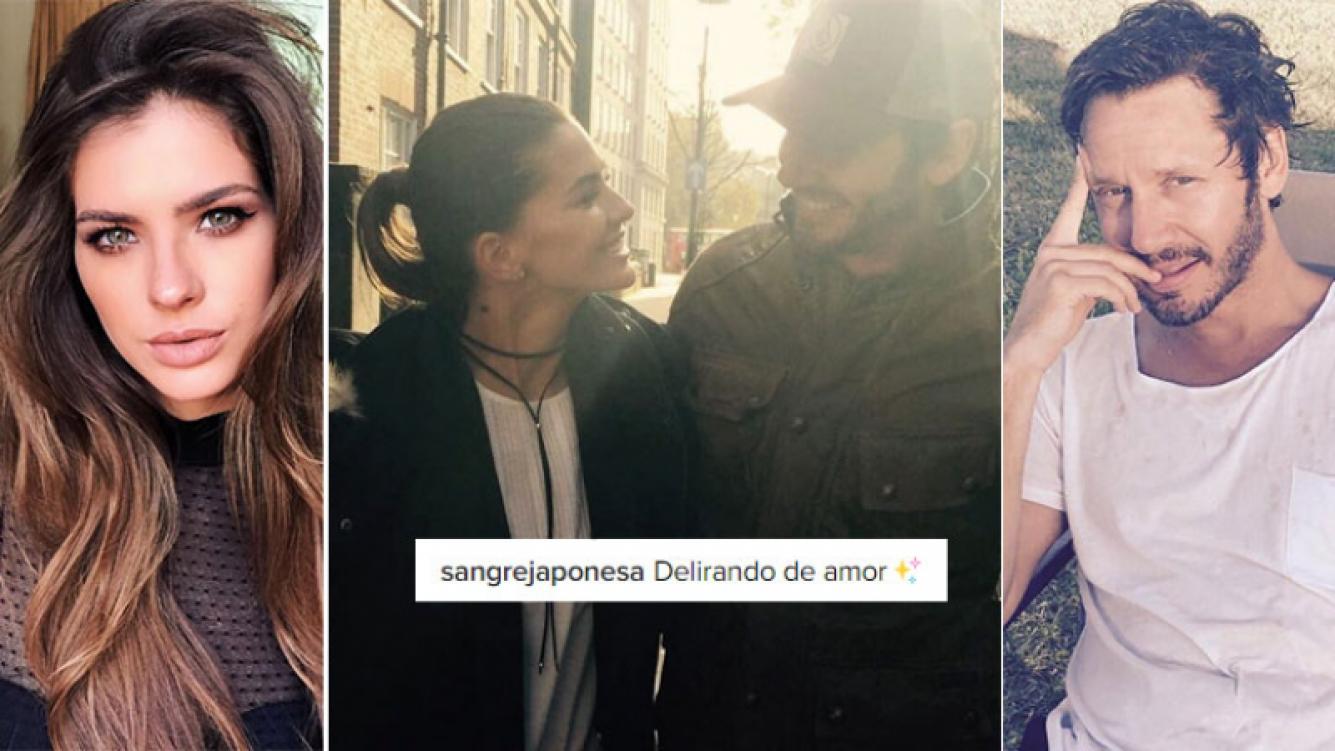 China Suárez y Benjamín Vicuñas, delirando de amor. Foto: Instagram.