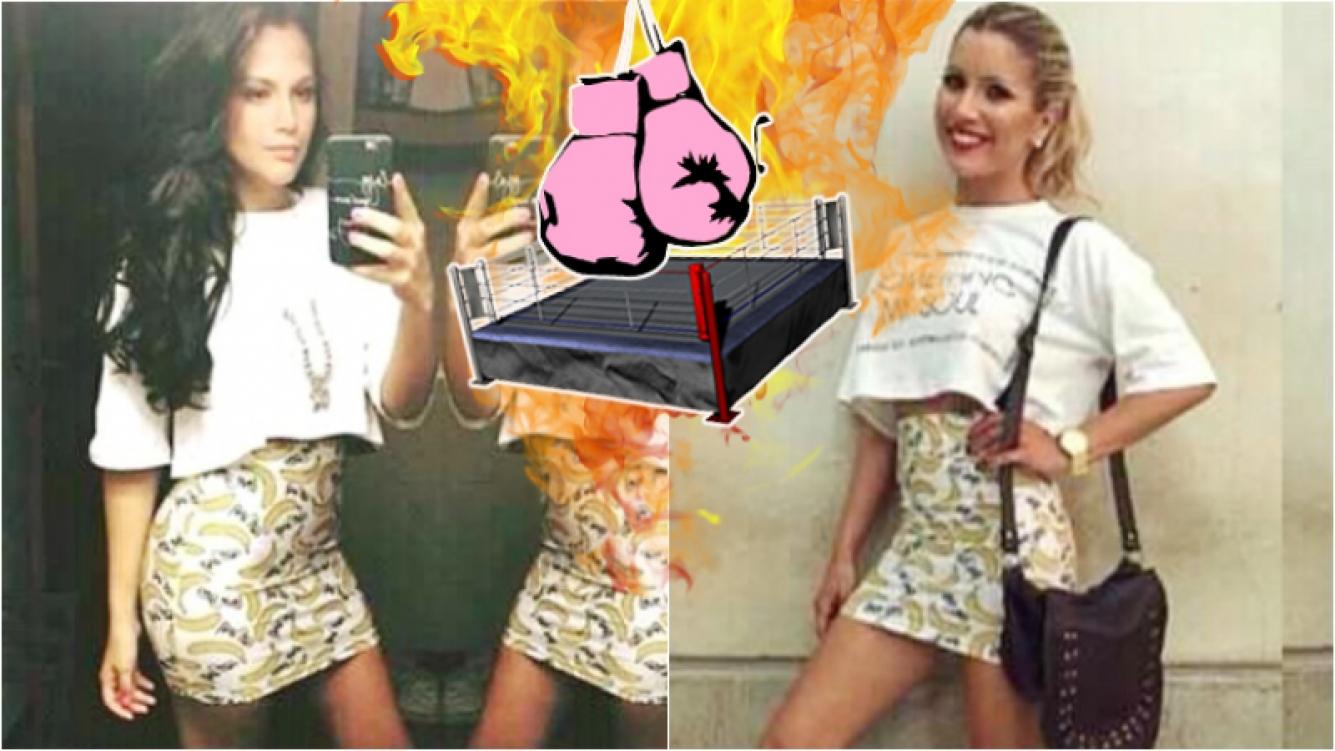 Barbie Vélez y Laurita Fernández se pusieron la misma minifalda tubo... ¡y ardió Twitter!