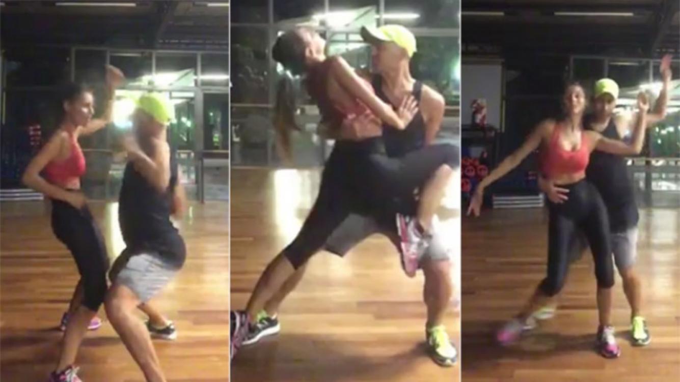 Pampita, súper sexy bailando el hit del verano (Foto: Twitter)