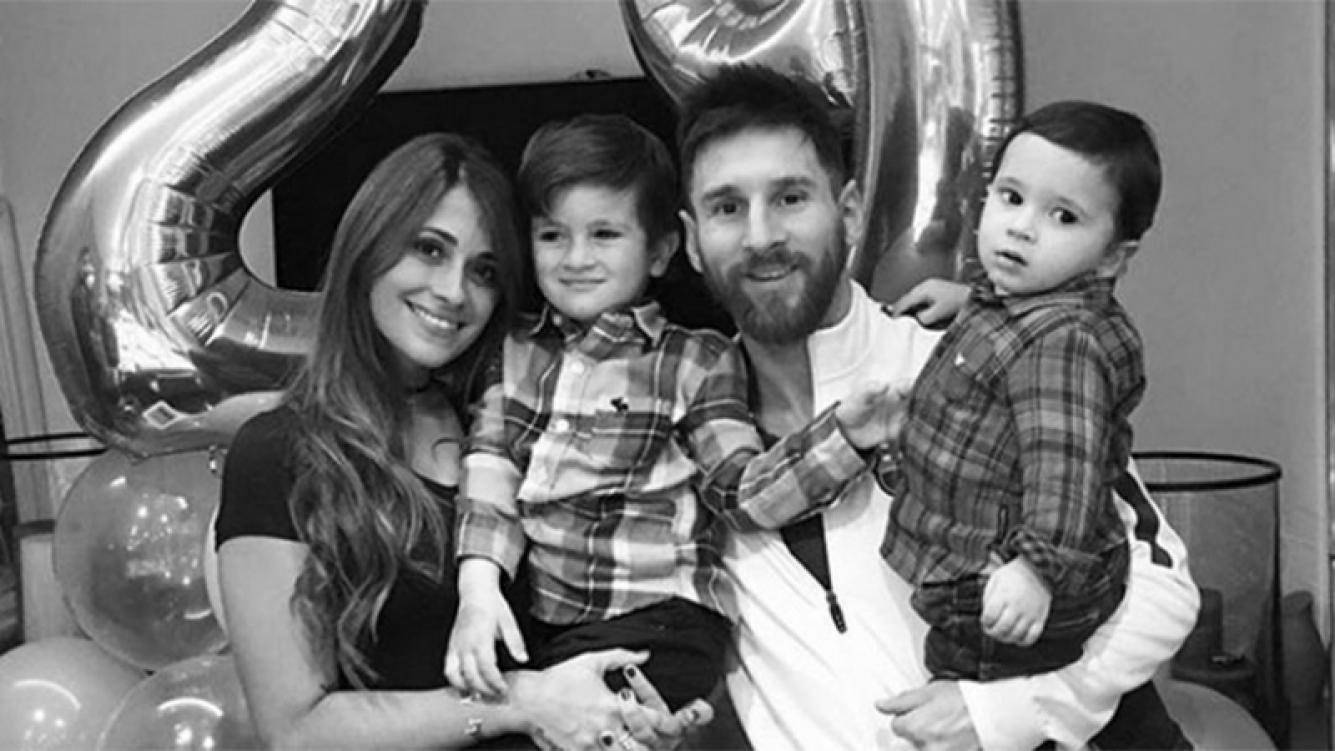 El tierno saludo de Messi para Antonella que fue furor en Instagram.
