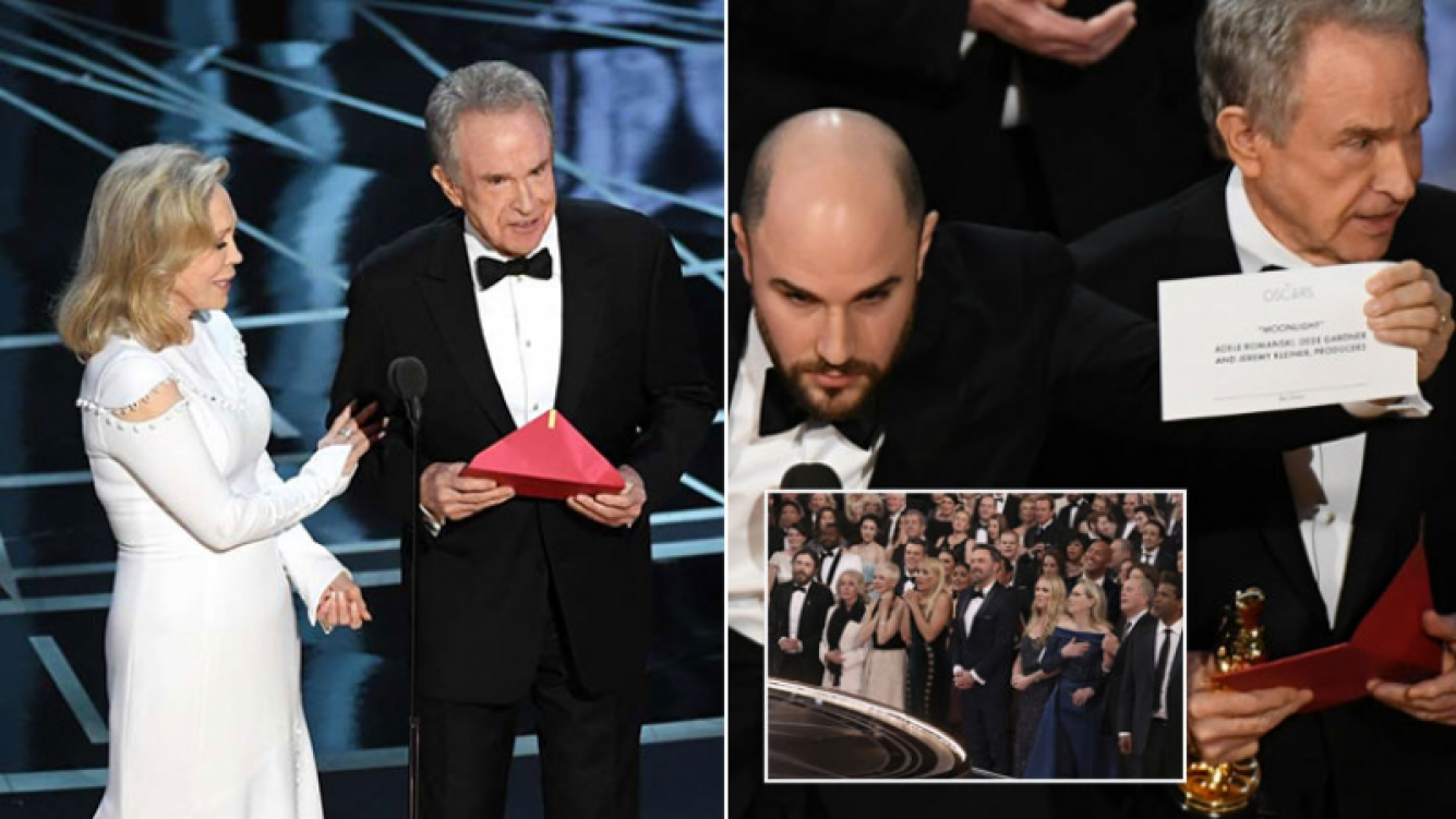 Resultado de imagen para papelón en los Oscar