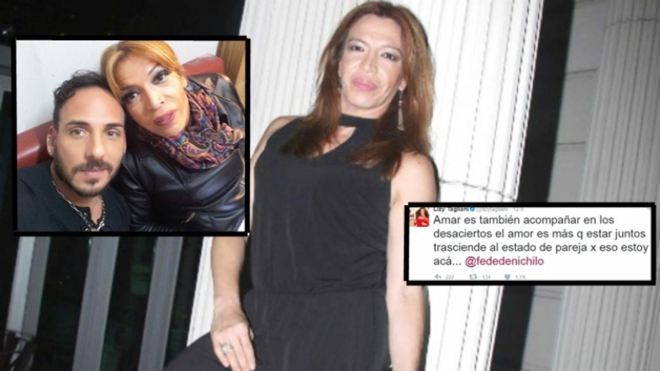 La tristeza de Lizy Tagliani tras el hecho delictivo de Federico y la desilusión amorosa (Foto: web y Ciudad.com)