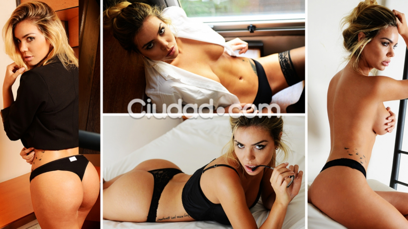 Las fotos de luc a rubio la secretaria hot de fabi n for Lucia rubio interviu fotos