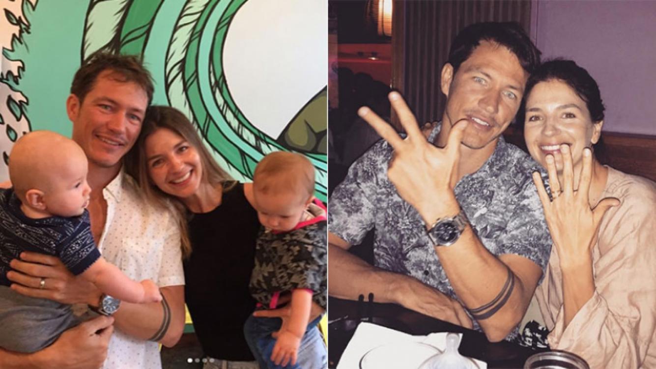 Marcela Kloosterboer presentó a su hermano en Instagram (Foto: Instagram)