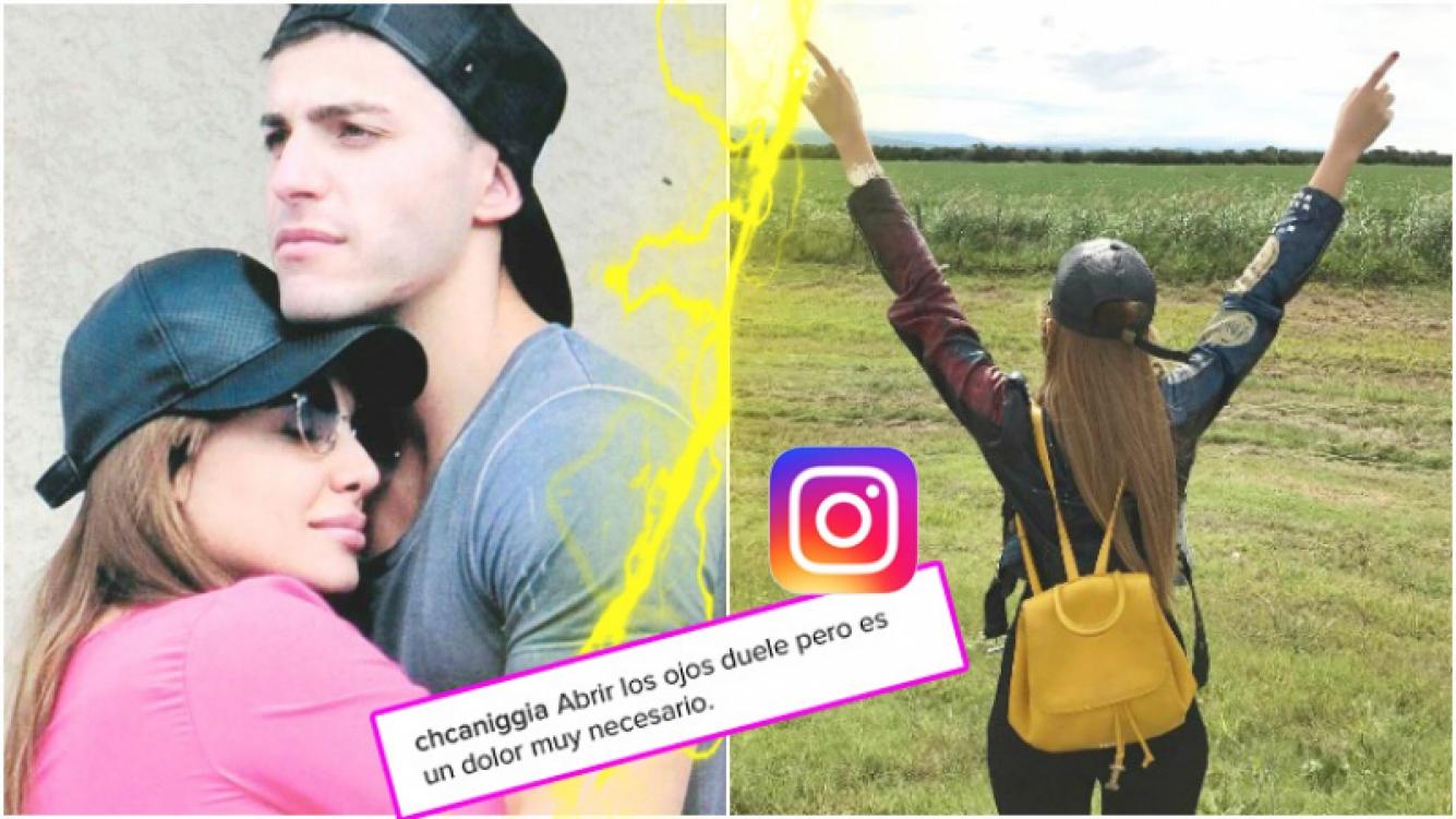 El nostálgico mensaje de Charlotte Caniggia tras el escándalo con Loan (Fotos: Instagram)
