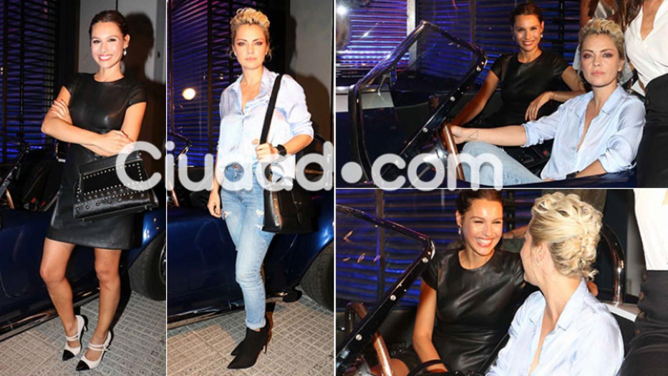 Pampita y Dolores Fonzi, en un evento de moda (Foto: Movilpress)