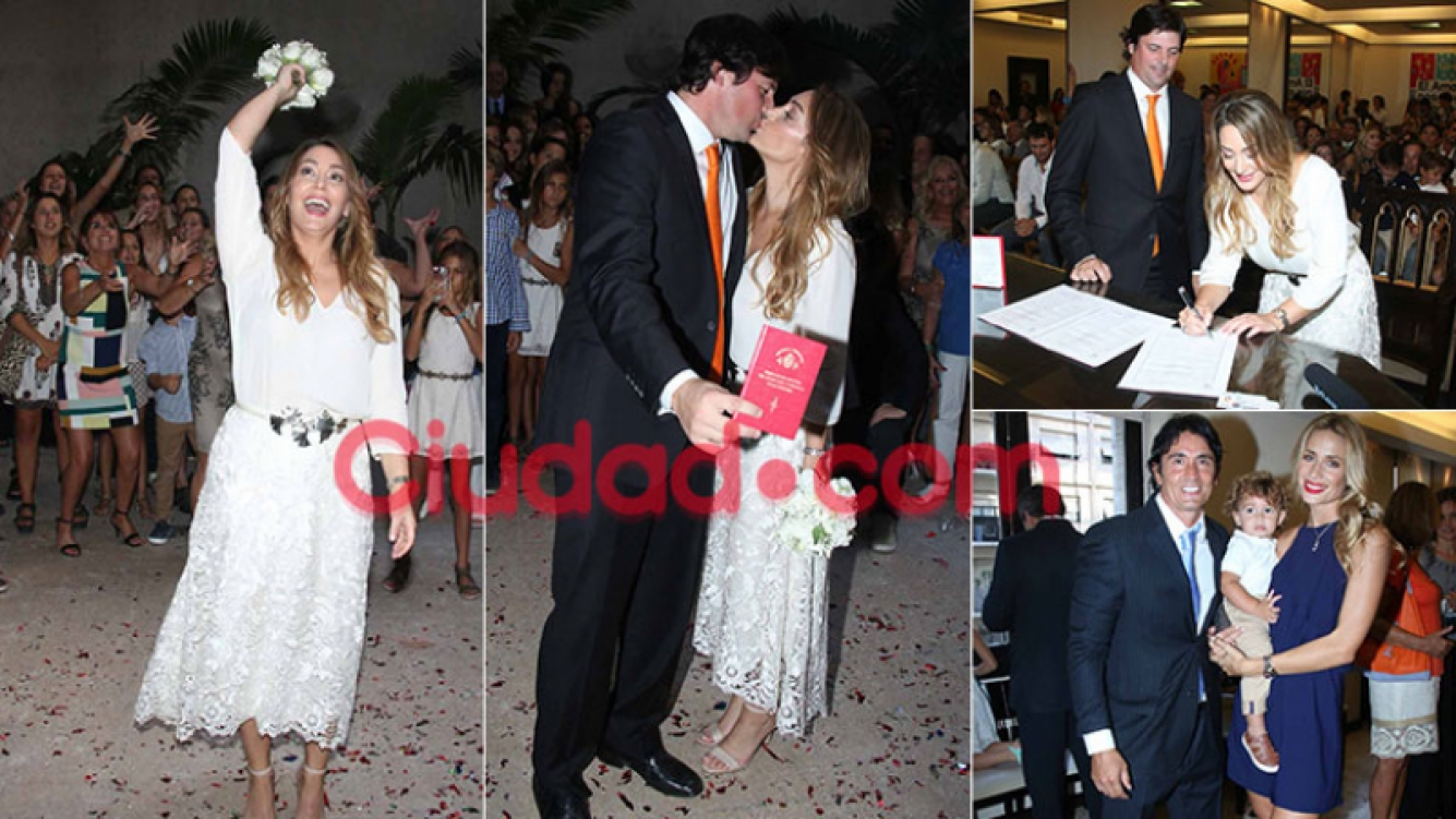 El casamiento de Sol Estevanez y Mariano