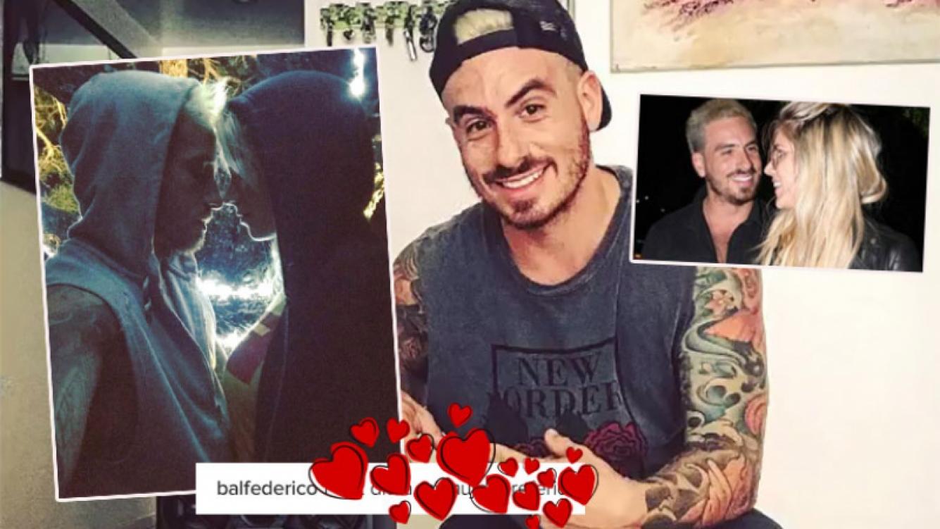 La romántica foto de Fede y Laurita (Foto: Instagram)