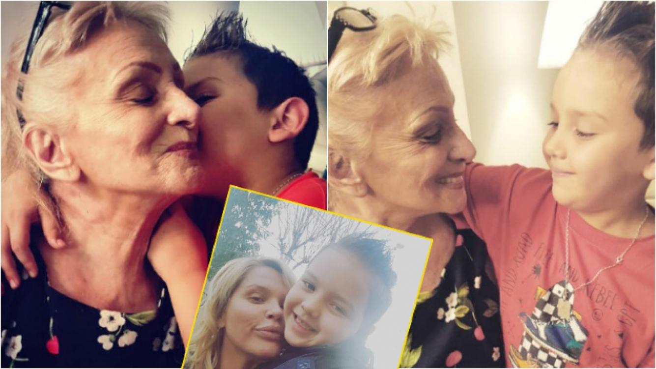 Las fotos del reencuentro entre Thiago y su abuela tras la muerte de Silvia Rodríguez (Fotos: Instagram)