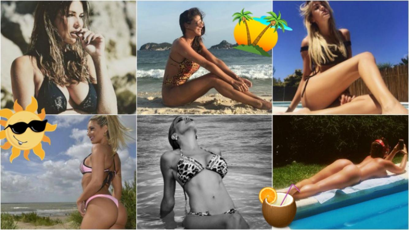 Las diosas de Instagram despiden el verano con sus fotos más sexies: bikini, playa y lluvia de corazones. Foto: Instagram