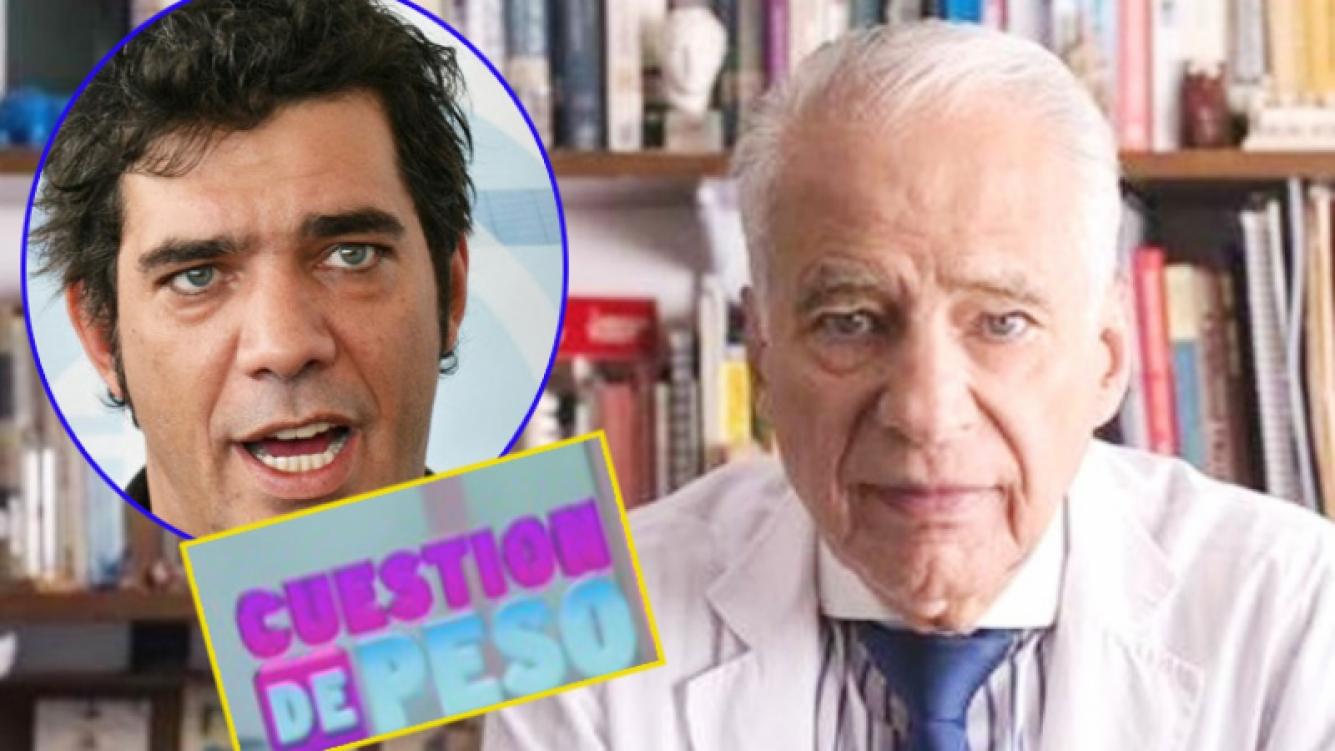 Tras la posible renuncia del Alberto Cormillot de Cuestión de Peso, la palabra de su hijo (Foto: Web)