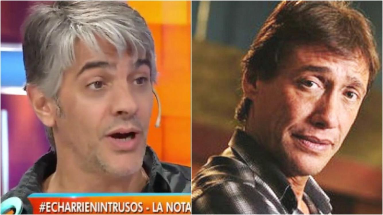 """Echarri le dedicó duras palabras a Gianola: """"Es falso como billete de 3 pesos"""""""