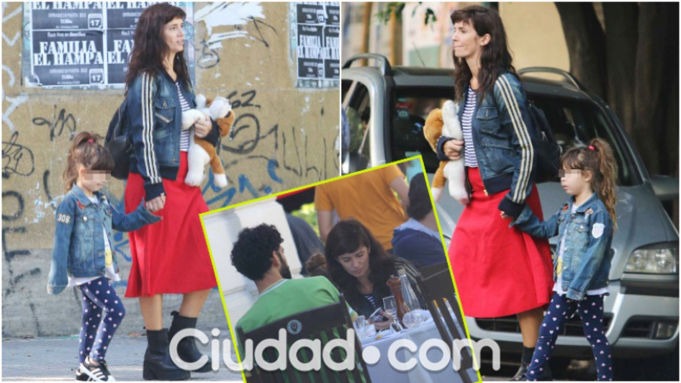 El look hippie chic de Griselda Siciliani y su hija Margarita (Fotos: Movilpress)