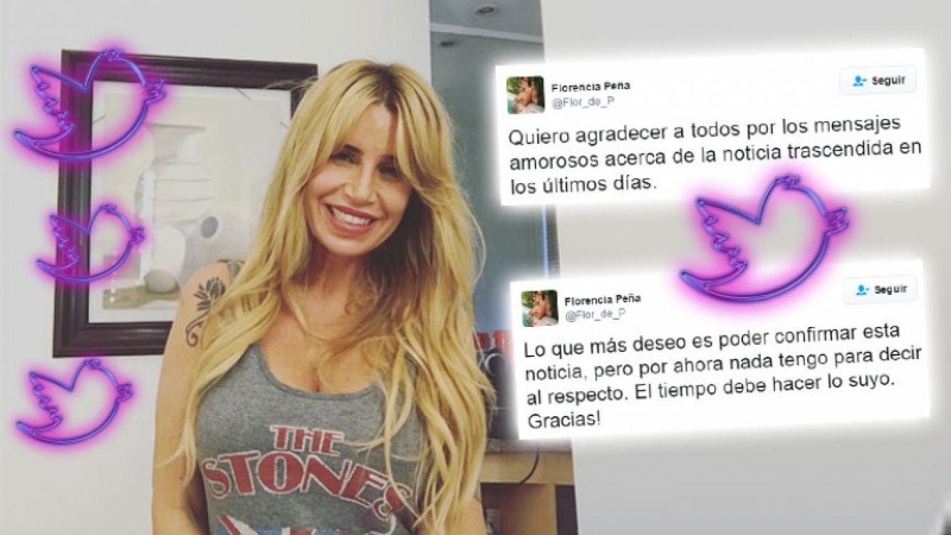 Bomba: Florencia Peña rompió el silencio sobre la noticia más feliz