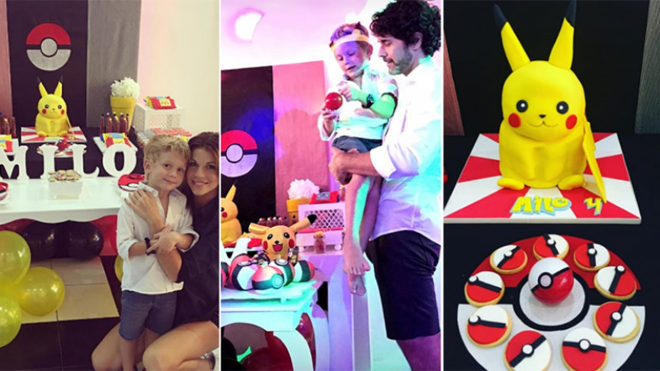 Las tiernas fotos y decoración del cumpleaños del hijo de Mariano Martínez y Juliana Giambroni (Foto: Instagram)